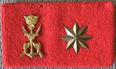 Emblema de #Comandante de #Infantería de #Marina. Años1949-1975.