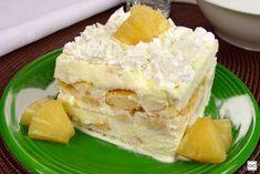 Guia da Cozinha - Doces deliciosos para fazer em até 30 minutos Dairy, Cheese, Sweet, Desserts, 30, Food, Delicious Desserts, Yummy Recipes, Pineapple Ice Cream