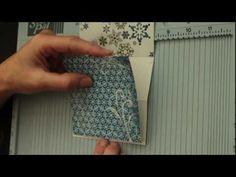 Swinging Z-Fold Card tutorial - Really Pretty & Fun - Splitcoaststampers