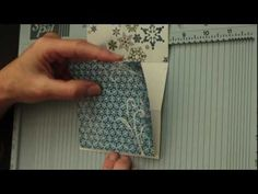 Swinging Z-Fold Card