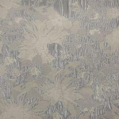 5396bf1724e Metallic Silver/Ivory Floral Jacquard Jacquard Fabric, Fashion Fabric, Mood  Fabrics, Floral