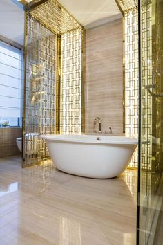 Glamorous Bathrooms by Kelly Hoppen to Copy | Room Decor Ideas