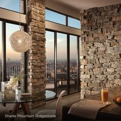 Ply Gem Stone has a remarkable talent for setting the tone and defining the character of a building interior or exterior. Interior Walls, Interior And Exterior, Stacked Stone Backsplash, Stone Veneer Exterior, Brick Face, Natural Stone Wall, Modern Architects, Rouen, Interior Design Companies