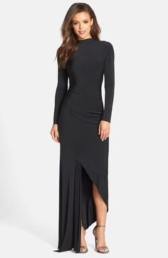 Needle & Thread Long Sleeve Jersey Gown available at #Nordstrom