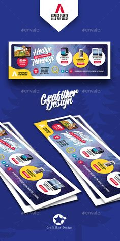Technology Shop Cover Templates