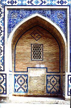 The Ulughbeg madrasas, 1417, (1995) Photography: Erdinç Bakla.
