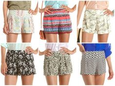 Charlotte Russe floaty shorts a must for my summer wardrobe!!!!