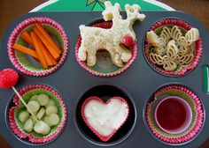 Muffin Tin Monday - Rudolph by Sugary Flower, via Flickr