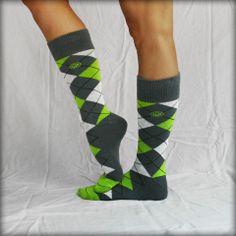 Cute Argyle socks that hep the homeless. Each pair is helping them get socks and work. Look good, feel good, do good.