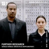 Further Research: Gerald Donald [NTS] by VLR on SoundCloud