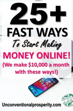 25 Ways to make Money for FREE online! These Ideas for making extra money from home can really help you make and save money! Learn how to earn online and many ways to make money fast! Easy ways to make money online Make Easy Money, Make Money From Home, Make Money Online, How To Make, Earn More Money, Ways To Earn Money, Money Tips, Money Hacks, Online Earning