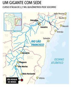 Seca que engole nascente do São Francisco deixa comunidades ribeirinhas em alerta - Gerais - Estado de Minas