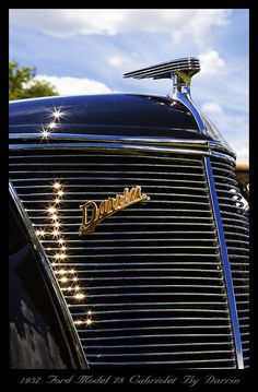 1937 Ford Model 78 Cabriolet Convertible by Darrin