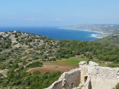 Kritinia castle Greece Islands, Past Life, Rhodes, Grand Canyon, Castle, River, Nature, Outdoor, Outdoors