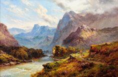 alfred de breanski sr. art | Victorian British Painting