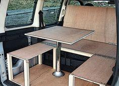 Citroen Berlingo & Peugeot Partner camper van conversion module.