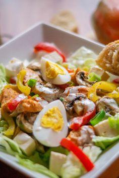 Sattmacher Salat aus dem Thermomix® - of July Decorations Salad Recipes, Pasta Recipes, Dinner Recipes, Dessert Recipes, Whole30 Recipes, Healthy Recipes, Healthy Fats, Eating Healthy, Crockpot Recipes