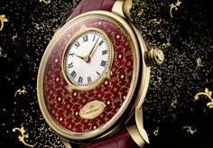 Jaquet Droz Petite Heure MinutePaillonnee Only Watch: la tradizione si affianca all'innovazione Realizzato per l'evento di beneficenza Only Watch 2015,...