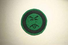 Mr Yuk  Emoji  Embroidered IronOn SewOn Patch