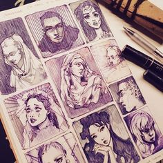 art sketchbook HEY IG FAM Im setting myself up to be the queen of failed art challenges, but Its fun to try (only got through half of the 500 hands Art Sketches, Art Drawings, Bel Art, Arte Sketchbook, Sketchbook Inspiration, Sketchbook Ideas, Sketchbook Pages, Layout Inspiration, Art Challenge