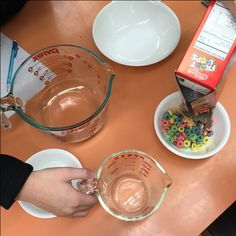 cereal portion size activity family consumer sciences home economics