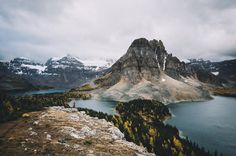 Rough side of Mt. Assiniboine. by Johannes Hulsch on 500px