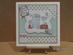 Lili of the Valley Sprinkled with Sugar + Everyday Grungy Messages + Sentiment Tags stamps used