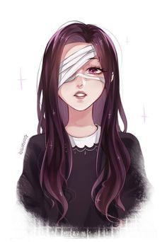 Anime art with eyes tied- Аниме арт , с связанными глазами Anime art with eyes tied - Anime Art Girl, Manga Girl, Manga Anime, Anime Girls, Girls Characters, Female Characters, Character Inspiration, Character Art, Anime People
