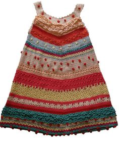 photo only --Crochet Dress