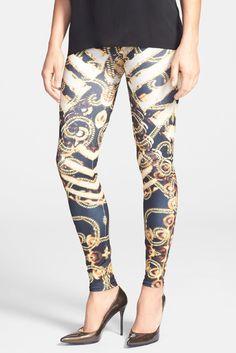 473a64f9294b9c Arthur George by R. Kardashian Print Control Top Leggings Control Top  Leggings, Black Leggings