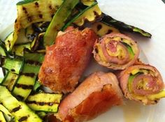 Involtini di pollo light