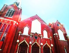 architectural, art, buildings, catholic church, church, churches, faabest, fear, old buildings, old church, old churches, phobias, photo, photography, red church, scary things, secrets, sharon cummings, worship