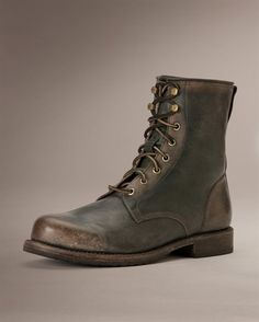 Wayde Combat - View All Men's Boots - Western Boots, Harness Boots, & More - The Frye Company great pin!