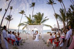 """Evelyn Heredia and Agustin Carro Schuck, with love, emotion and happiness, pursued a dream and made it a reality. Paulo Coelho in his book The Alchemist in a sentence said: """"When you really want something, the whole universe conspires to make your wish... Niko Bertino Photography  #PuntaCana #DestinationWedding"""