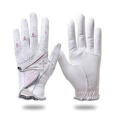 Golf Gloves 181146: G-Max Men And Women Golf Gloves (Women/ Nano/ Synthetic Leather/ Both Hand/ BUY IT NOW ONLY: $36.84