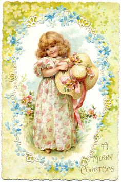 Ellen Jessie Andrews vintage postcard