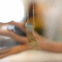 Handcrafted+Brass+California+Necklace+by+NINOTCHKAgoods+on+Etsy,+$44.00