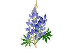 Bluebonnet Ornament: Wildflower Center Store. This year's holiday ornament from the Lady Bird Johnson Center.  $27.95