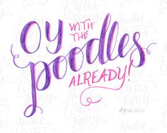 Oy with the poodles already Gilmore Girls by RachelWritesFancy