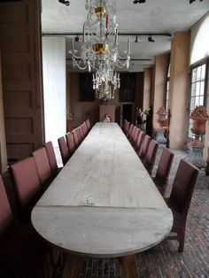 Vervoordt Castle Common dining room
