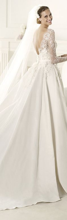 Ball gown wedding dress by Elie by Elie Saab #ballgown