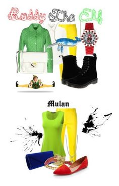 """""""Disney"""" by morley-321 on Polyvore featuring art, Dsquared2, Doublju, BERRICLE, Madewell, women's clothing, women, female, woman and misses"""