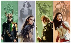 Marvel: Comics to Studios (Loki, Jane Foster, Odin, and Sif) Where is Thor?!