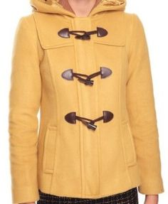 Toggle Button Jacket  @ Forever21 $32.80