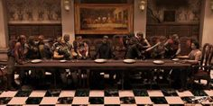 "Resident Evil 55 Pop Culture Parodies Of ""The Last Supper"" Resident Evil, Dan Brown, Albert Wesker, Leon S Kennedy, Evil Games, Jill Valentine, Famous Artwork, Classic Video Games, Live Action Movie"