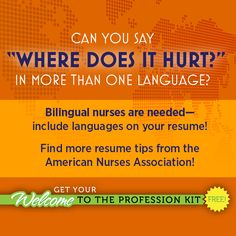 HAPPY NEW YEAR! Nursing students and new grads, visit nursingworld.org/newgraduate and start the year off right with a Welcome to the Profession kit! Show future employers what an outstanding addition you would be by presenting a strong, polished and professional resume. Gets lots of valuable job hunting tips in your Kit – it's ANA's FREE gift to nursing students, new grads and new nurses!