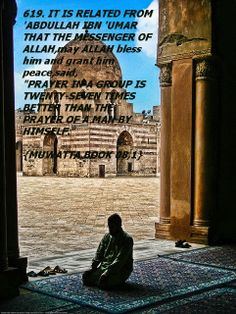 Importance of Jama'ath(prayer in group).