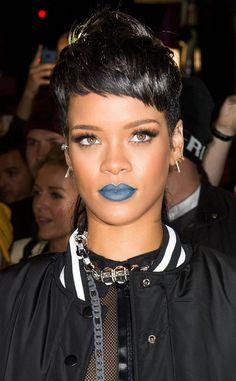 Rihanna's new mullet?!