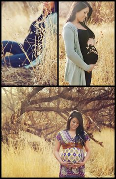 Love the field - maternity session