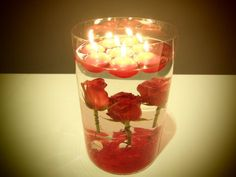 Idee per San Valentino: centrotavola
